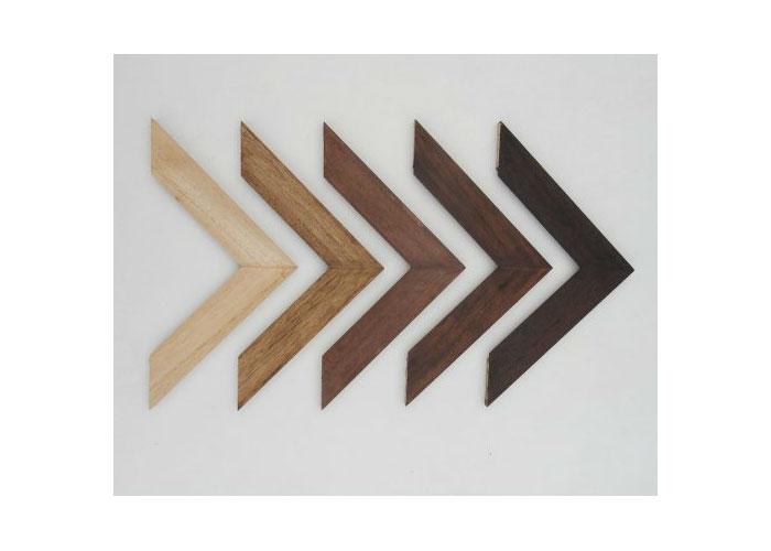 Espejos con marco de madera industrias ayn for Espejos para banos con marco de madera